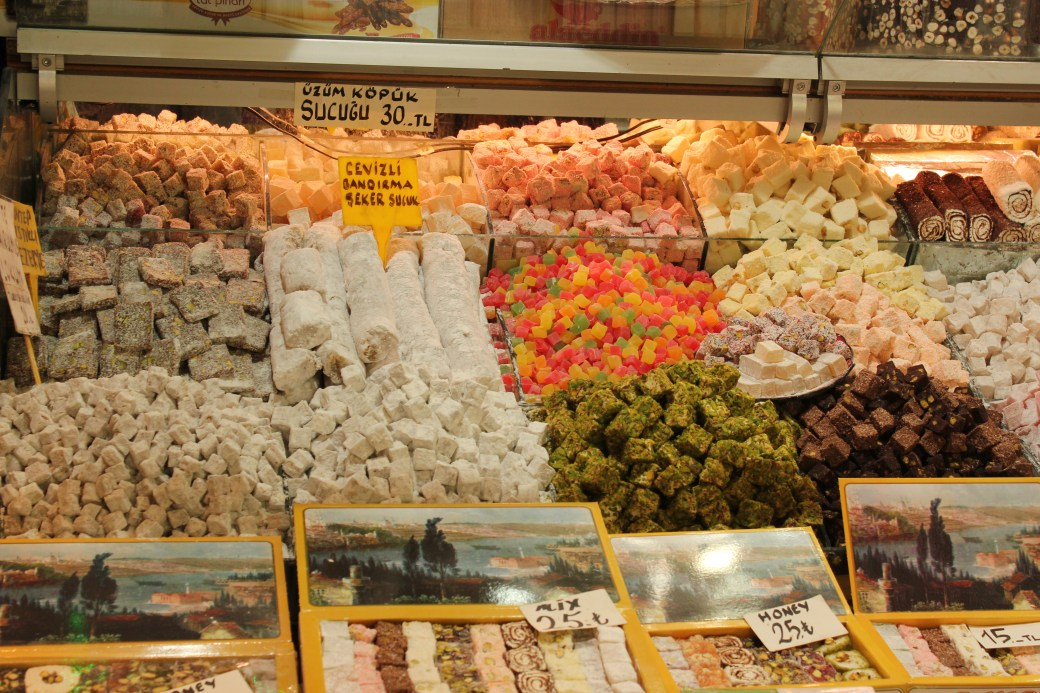An Assortment of Turkish Delights; Istanbul, Turkey; 2013