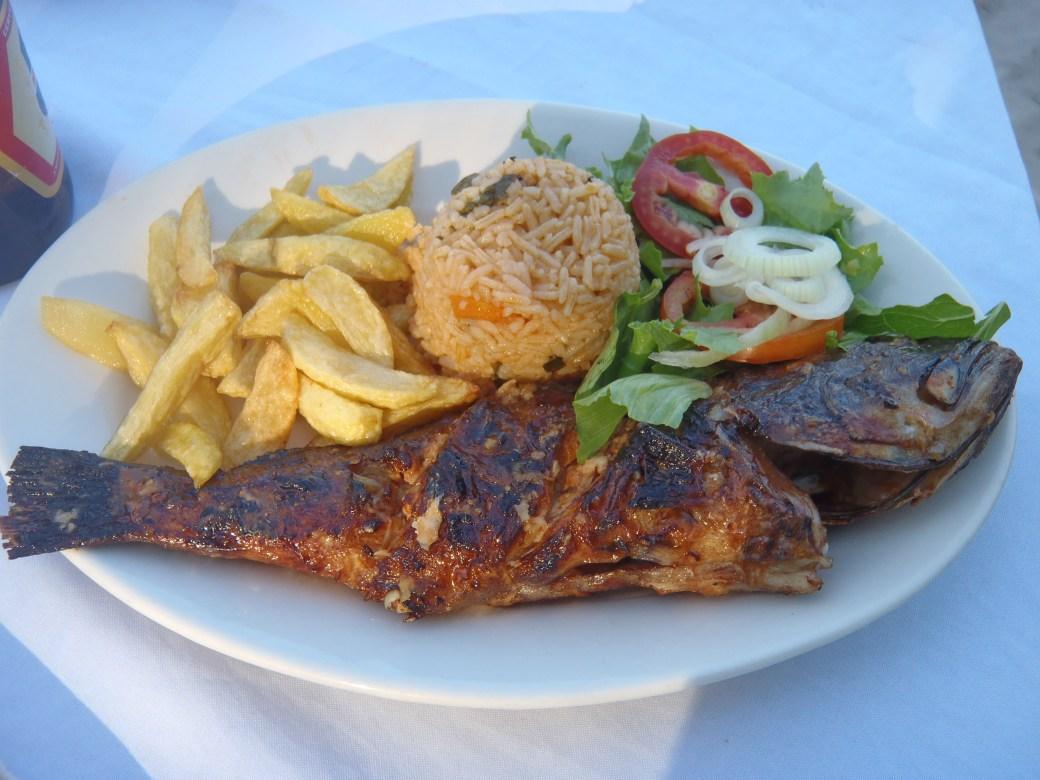 Lunch Platter; Pemba, Mozambique; 2011