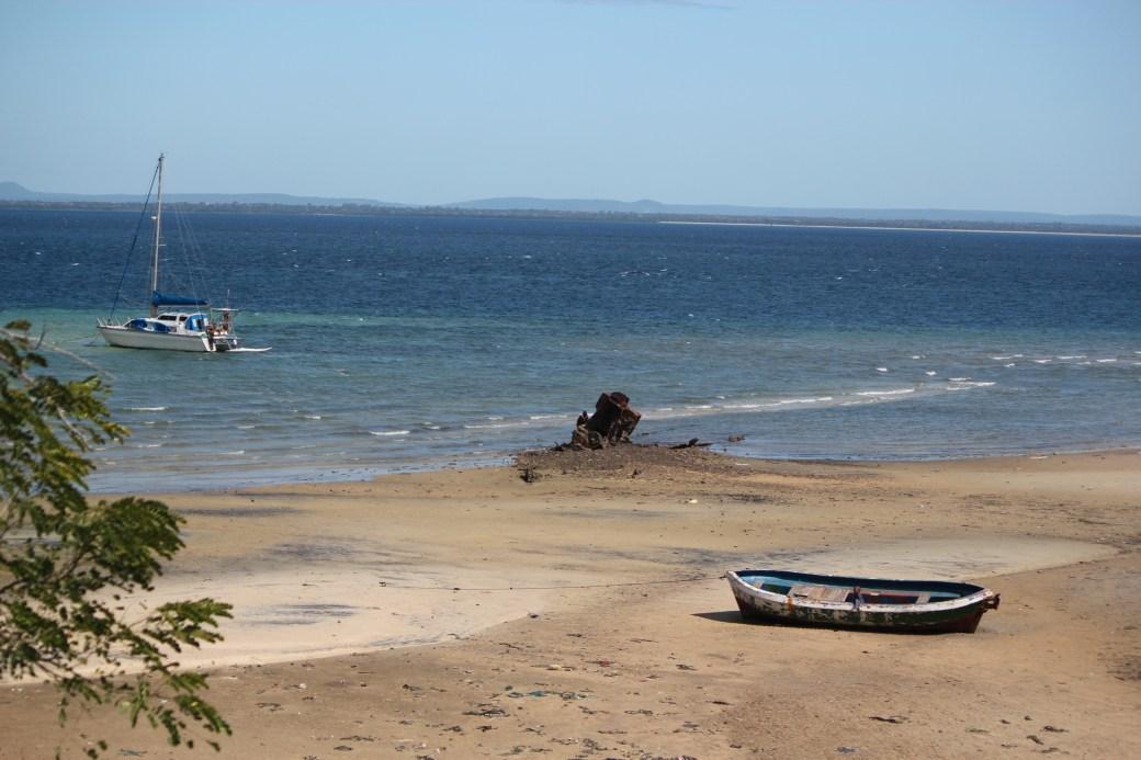Boy in Boat; Pemba, Mozambique; 2011