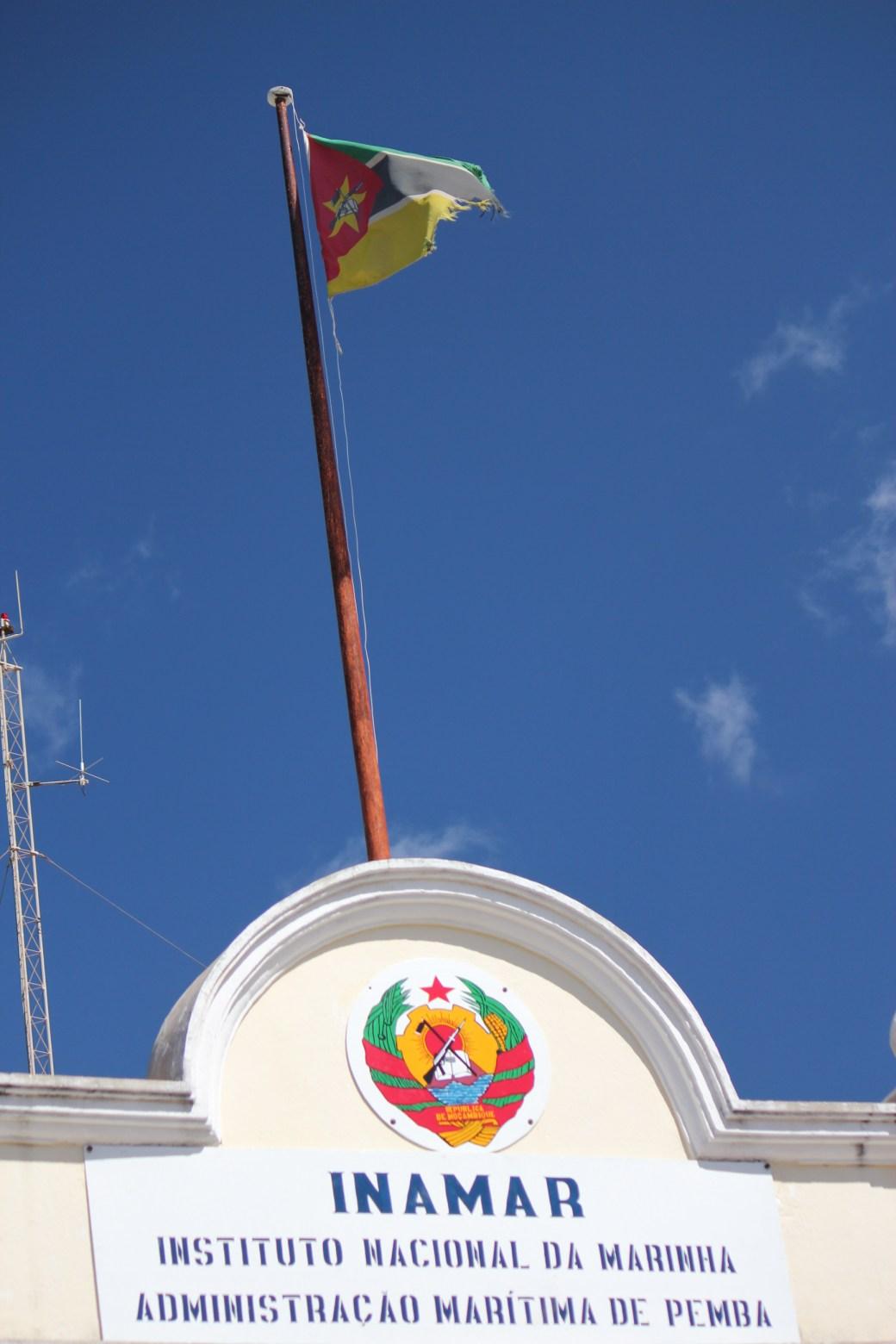 Mozambique Flag; Pemba, Mozambique; 2011