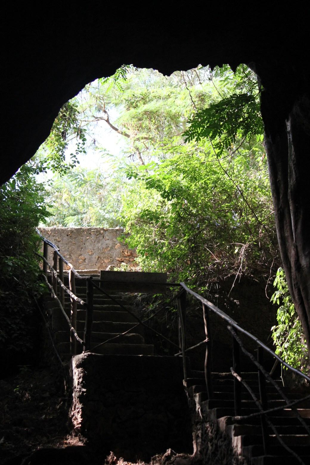 Slave Cave Entrance; Shimoni, Kenya; 2011