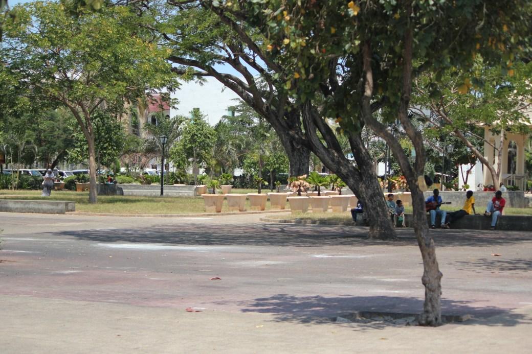 The Main Square; Stone Town, Zanzibar, Tanzania; 2011