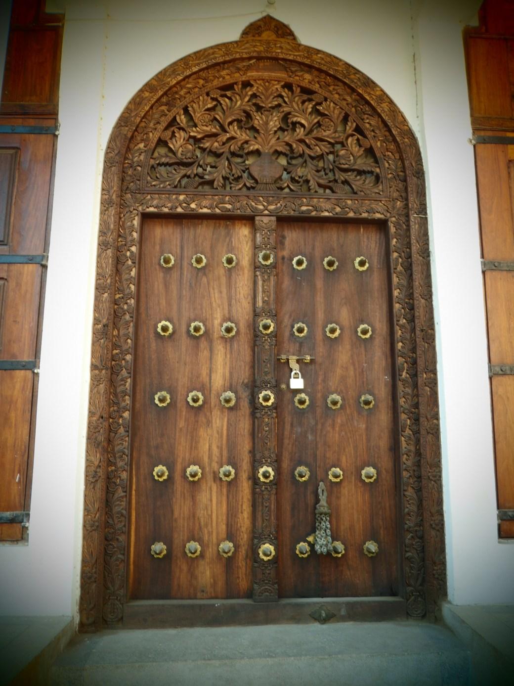 Zanzibar Door; Stone Town, Zanzibar, Tanzania; 2011