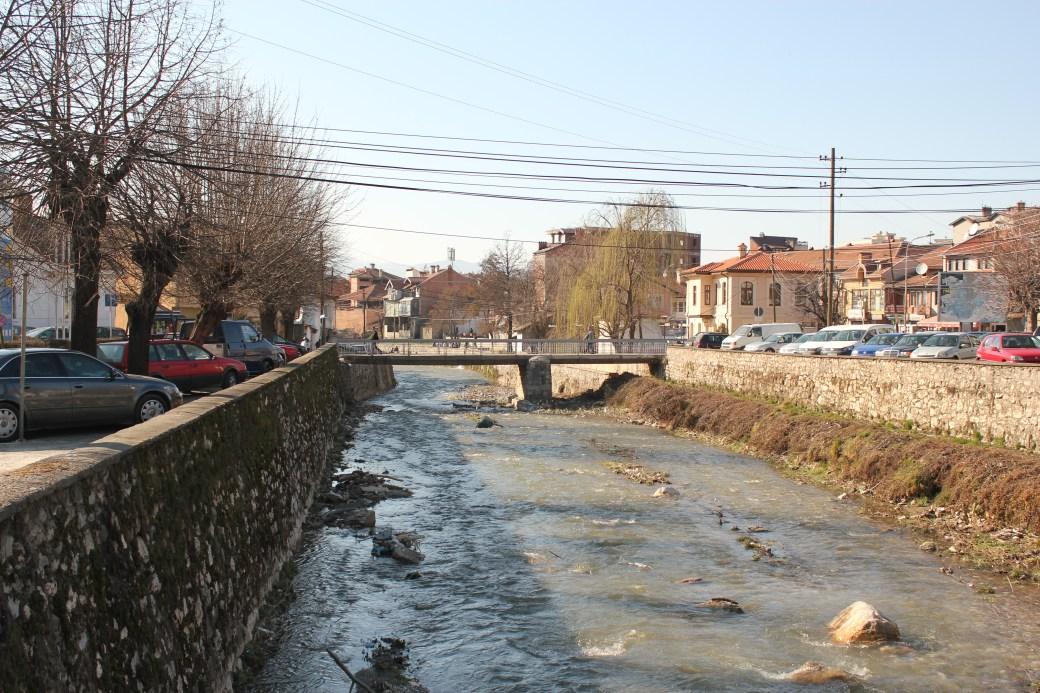 River in the City; Prizren, Kosovo; 2013