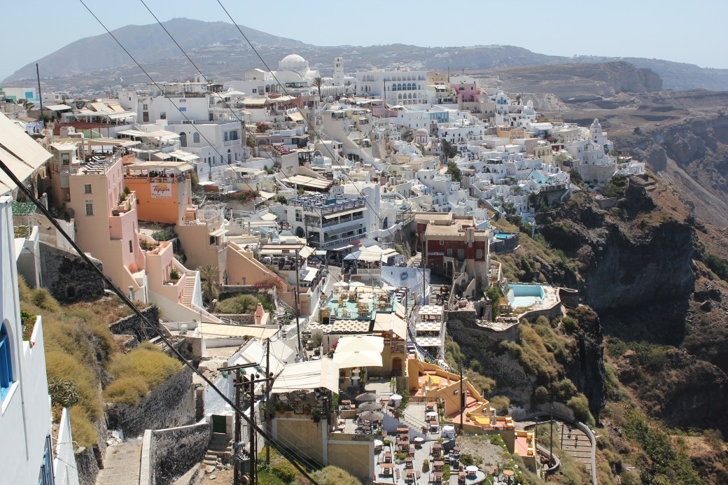 City View; Santorini Island, Greece; 2013