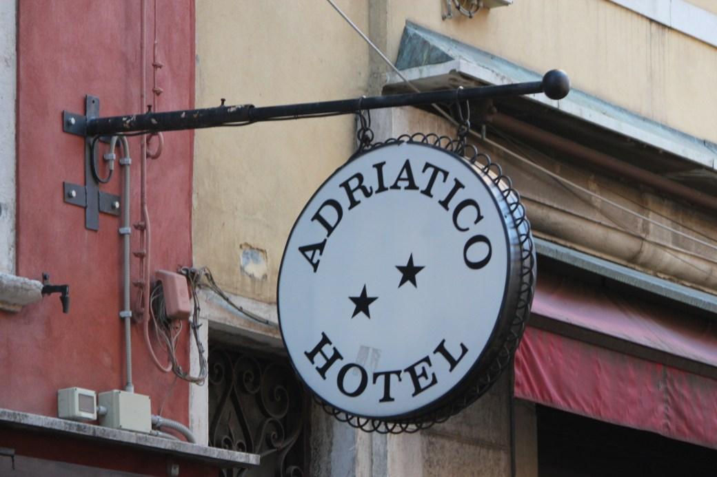 Adriatico Hotel; Venice, Italy; 2011