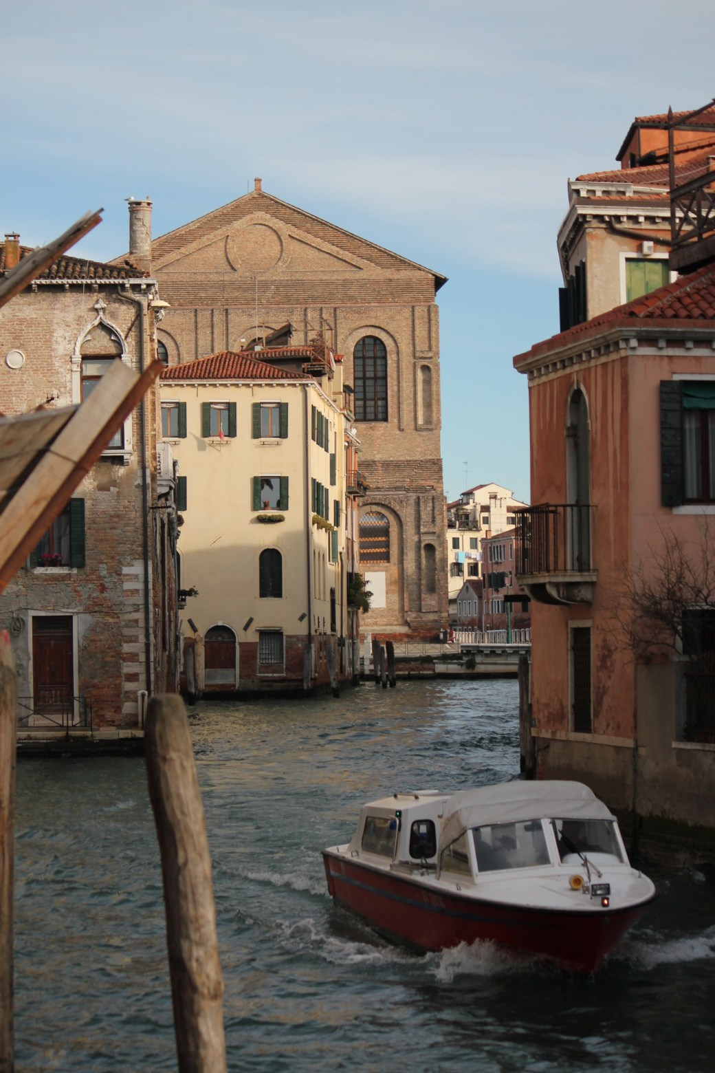 Boat Transport; Venice, Italy; 2011