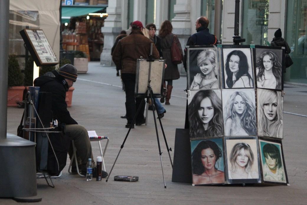 Street Artists; Milan, Italy; 2011