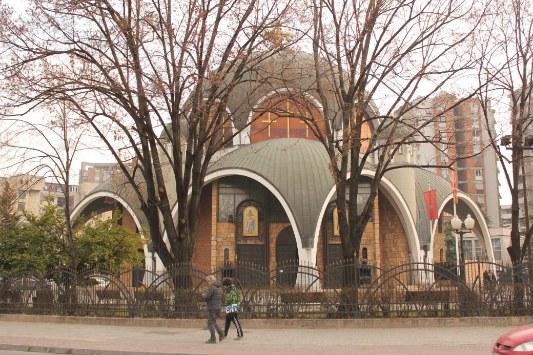 Church; Skopje, Republic of Macedonia; 2013