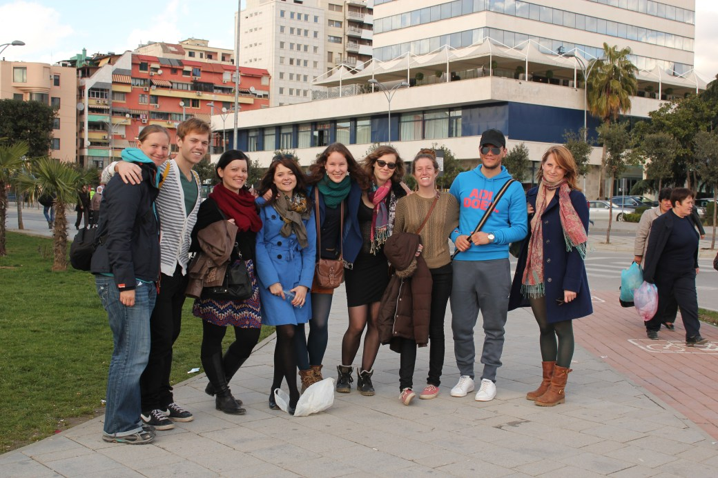 Group Shot; Tirana, Albania; 2013