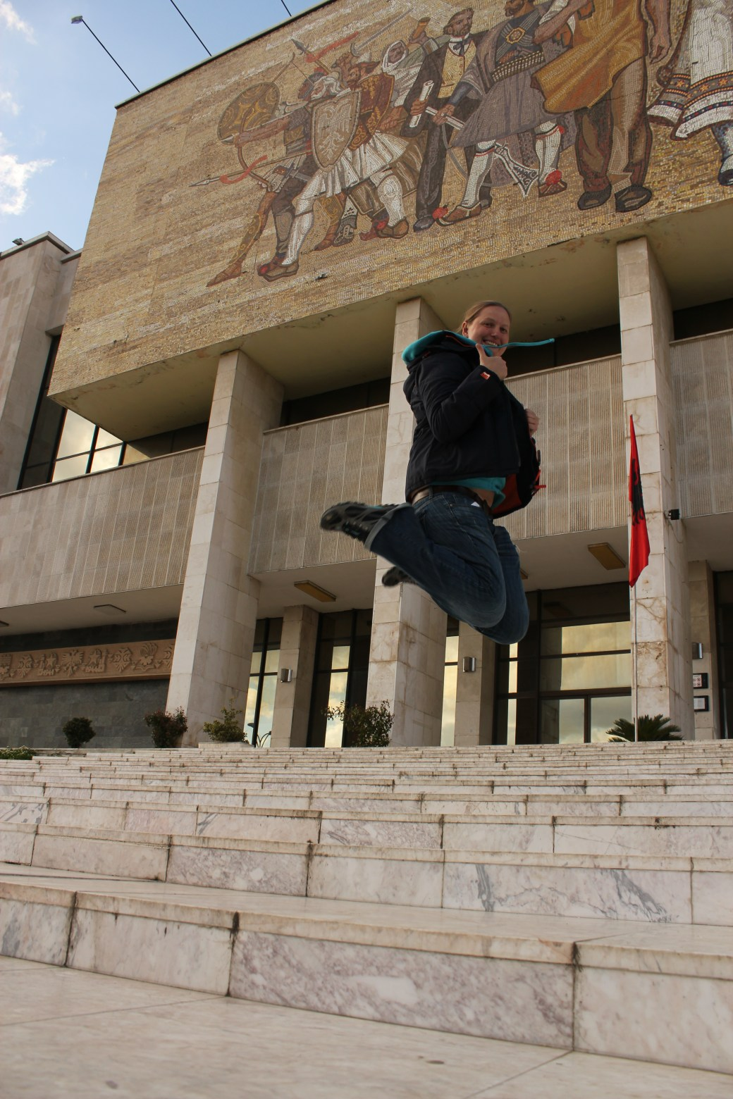 Signature Jumpin' Photograph; Tirana, Albania; 2013