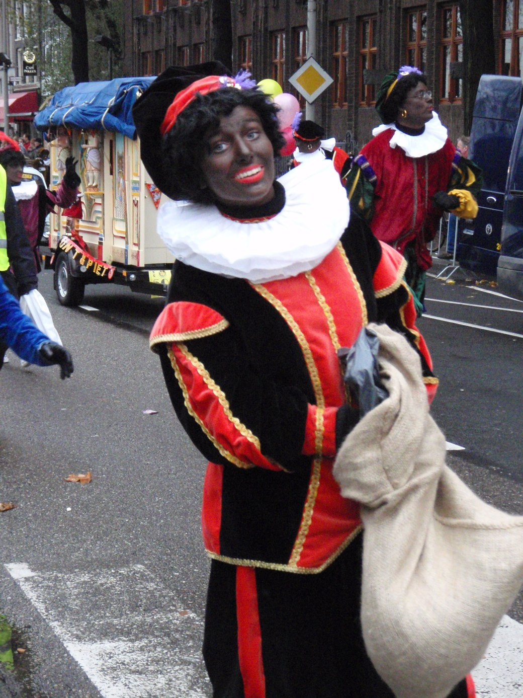 Character of St. Nick Parade; Amsterdam, Netherlands; 2010