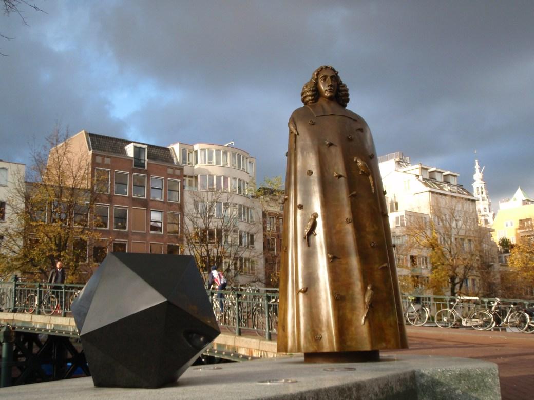 Bronzed Statue; Amsterdam, Netherlands; 2010