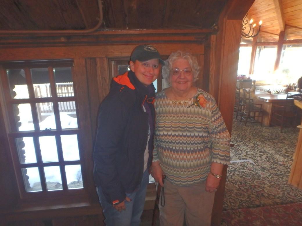 Gram & I Celebrating Her 80th; 2015