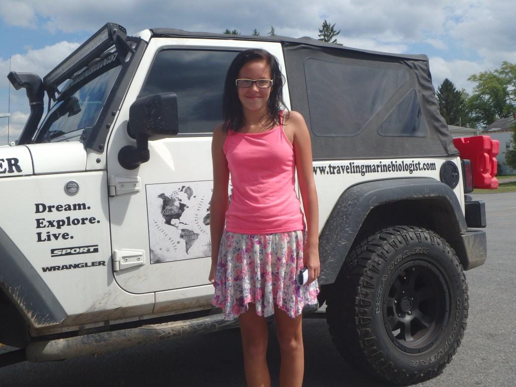 Miranda - Future Marine Biologist; Somerset, PA; 2015