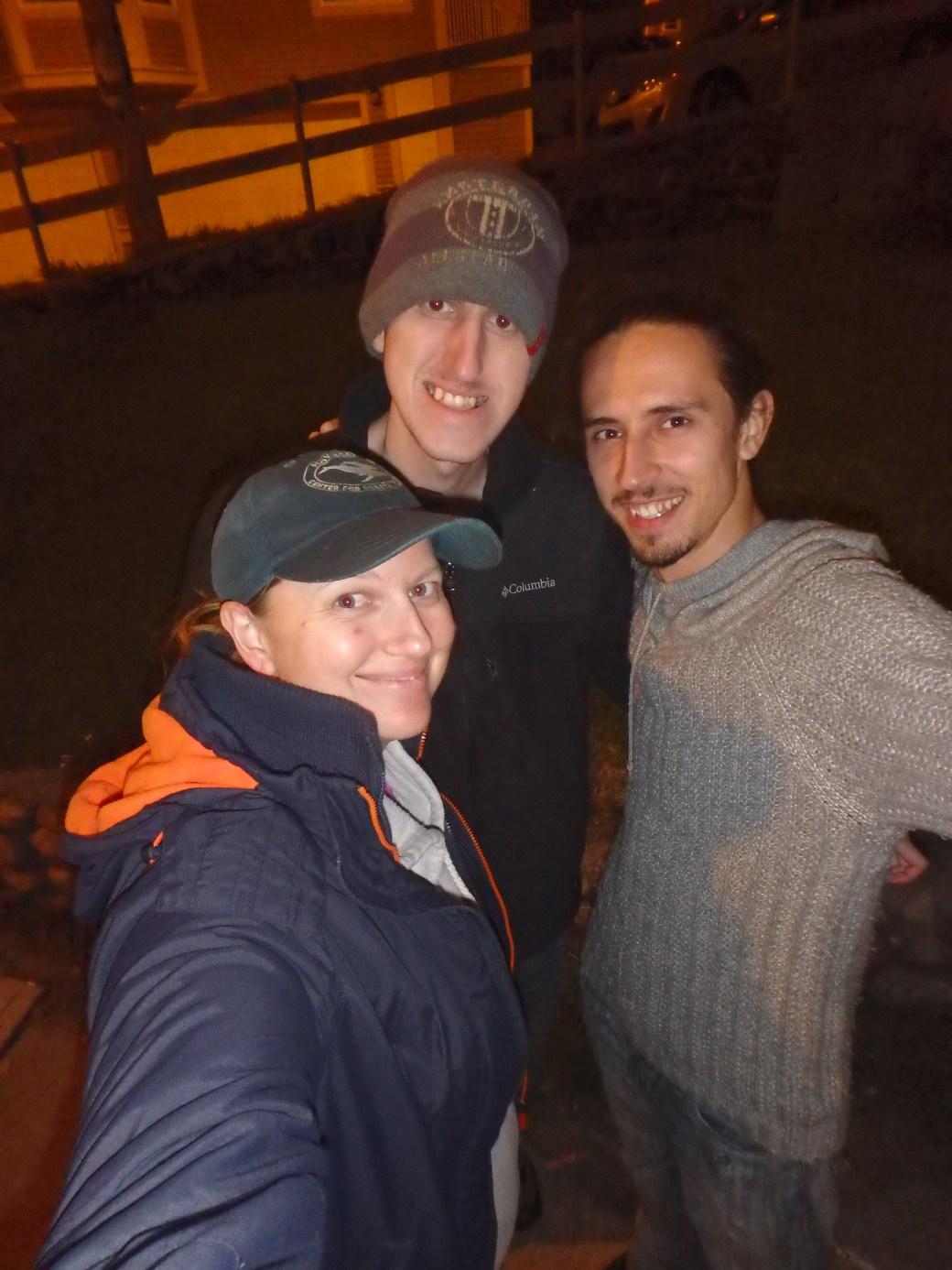 Jessica, Joshua, and Igor; St. John's, Newfoundland; 2015