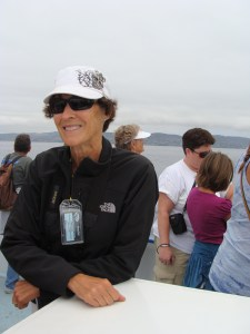 Desi Green of the American Cetacean Society