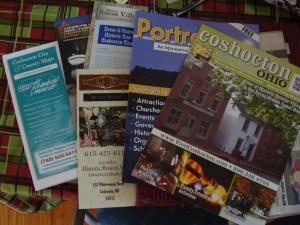 Coshocton Ohio brochures