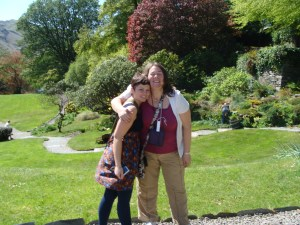 Leslie and Marla at Rydal Mount