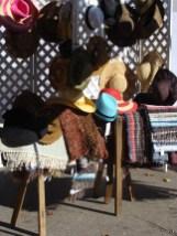 hat saddle blankets old fashioned apple butter kettle