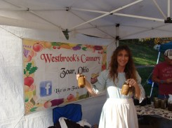 Westbrook's Cannery apple butter old fashioned kettle cooking outdoors