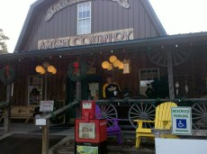 Downtown Smicksburg Amish Country store had some great furniture. If we would ever stay in one location long enough I think I would furnish at least part of our house from here.