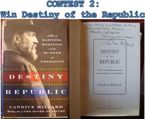 President James A. Garfield biography Candice Millard Destiny of the Republic