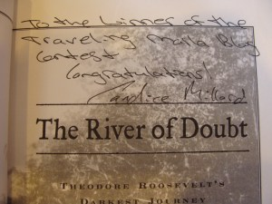 Candice Millard signed hardcover River of Doubt President Theodore Roosevelt