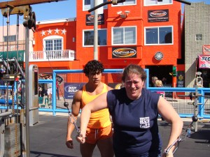 Muscle Beach Venica CA travel Los Angeles Venice Beach California writer blogger
