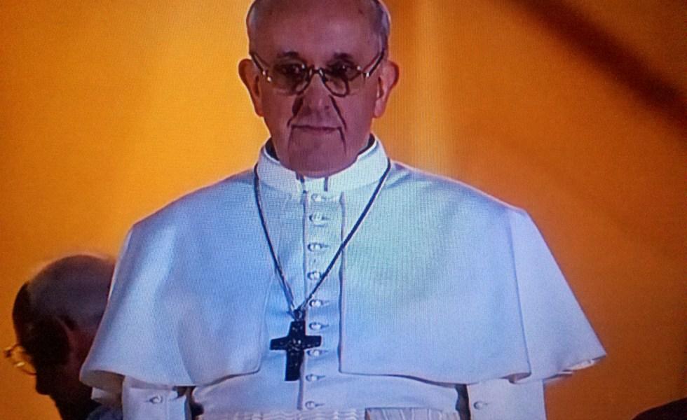female pope misogyny Catholic church modest cross