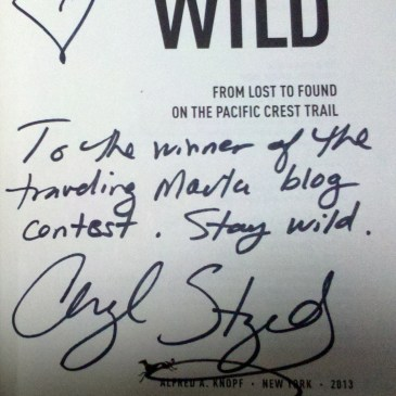 wild from lost to found on the pacific crest trail autographed book memoir signed by author