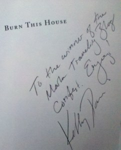 Writer Wednesday National Poetry Month signed book giveaway contest Red Hen Press