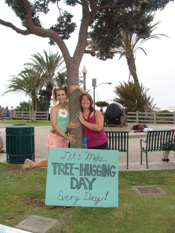 2009 Tree Hugging Day Santa Monica California