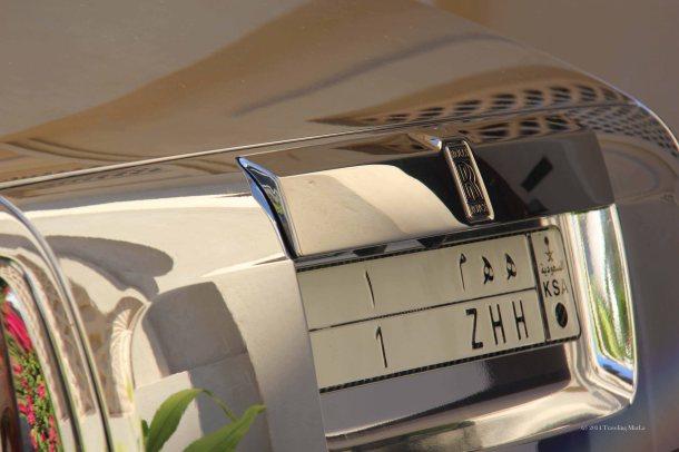 rollDubaiX travelX Rolls Royce Phantom ChromeX Crown Prince Rolls RoyceX Saudi Arabia Rolls Royce 1 ZHHs royce registration plate