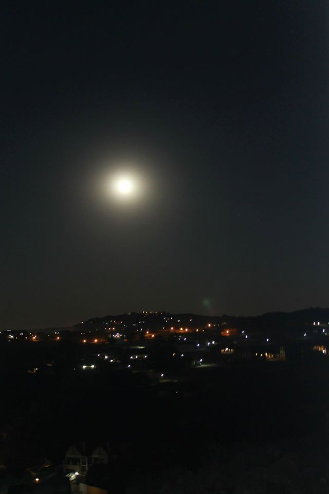 travel South Africa supermoon