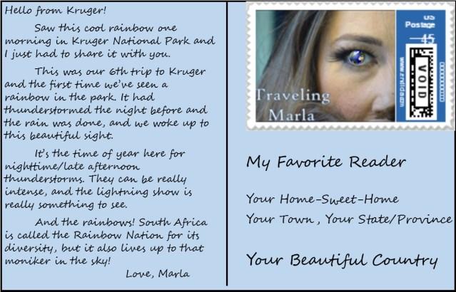 travel Africa rainbow
