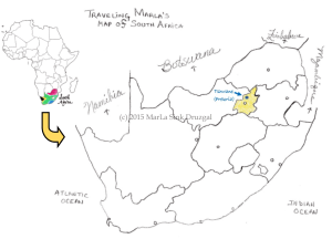 travel South Africa Pretoria capital