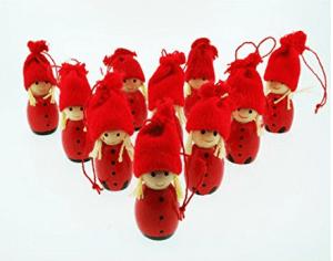 Tomten ornaments Swedish Chritsmas decorations