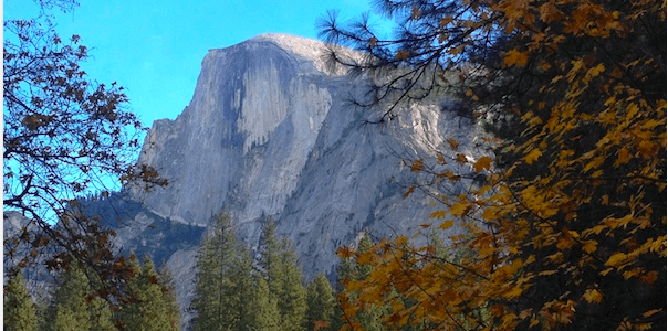 {Yosemite} Merced Grove and Vernal Falls