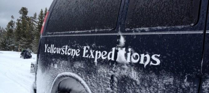 Travelers seek solitude – Yurt Camp in Yellowstone