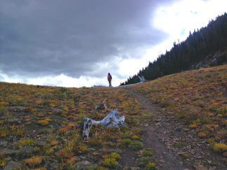 Favorite Fall Activities - Hiking Livingston Peak in the Absaroka Range with Anders