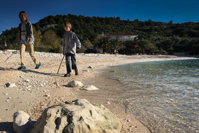 Secret Beach in Hvar Croatia