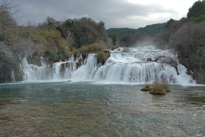 National Park Krka falls