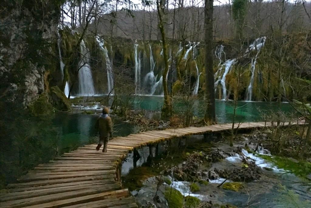 Walking in Croatia waterfalls