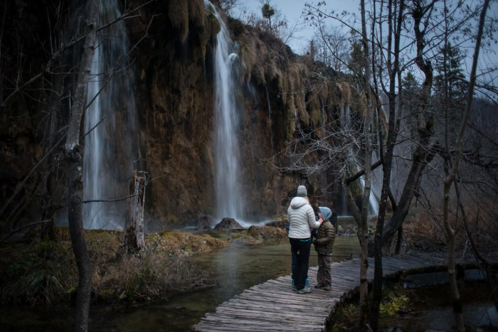 Hiking in Plitvice Lakes National Park