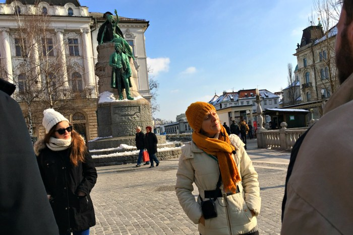 Ljubljana Free Tours offers free walking tours of the city daily