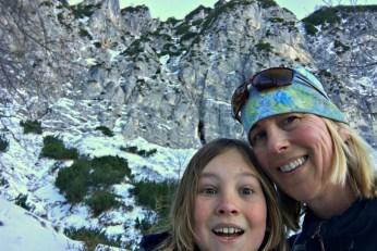 Hiking in the Alps: Predigtstuhl near Bad Reichenhall