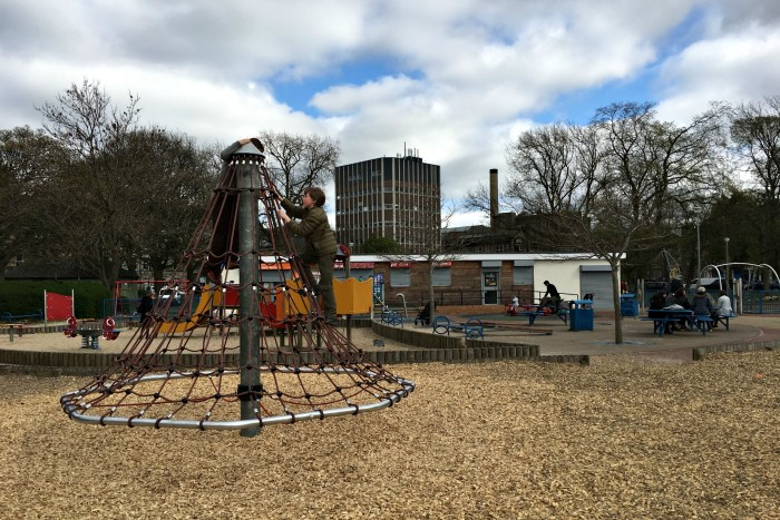 The Meadows Playground in Edinburgh is a great playground in Edinburgh Scotland