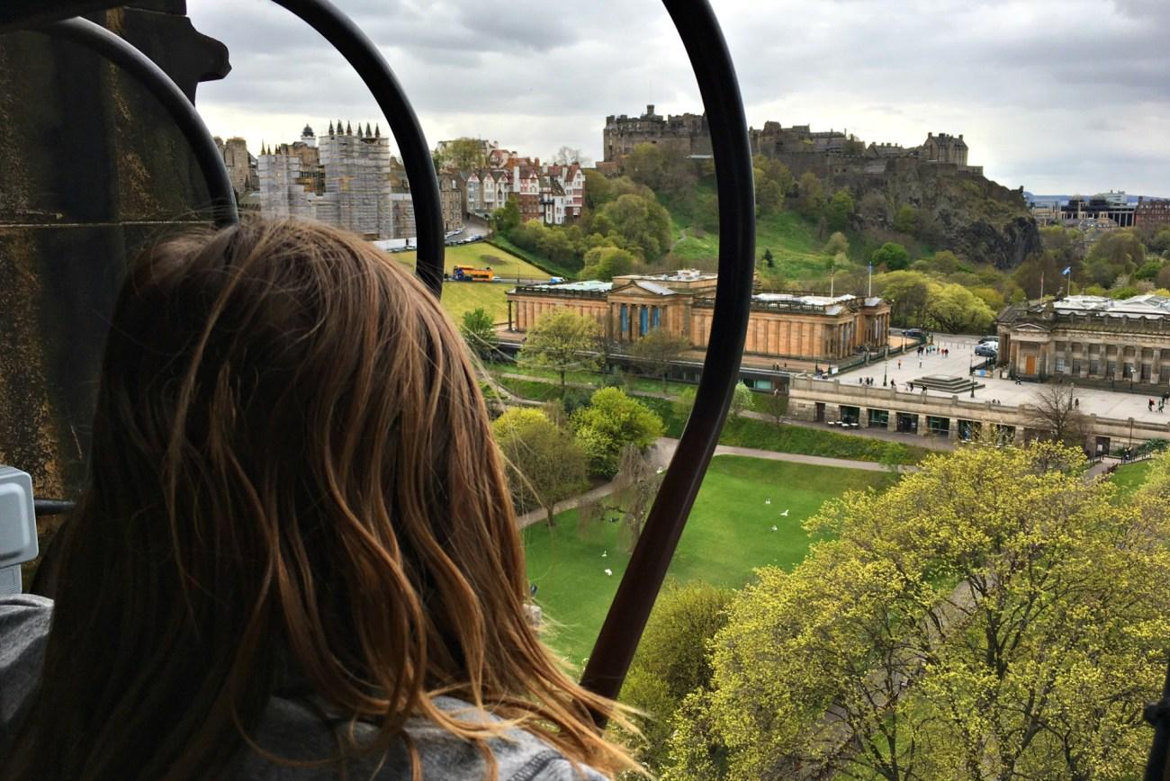 Fun Things to do in Edinburgh with Kids climb Scott Tower