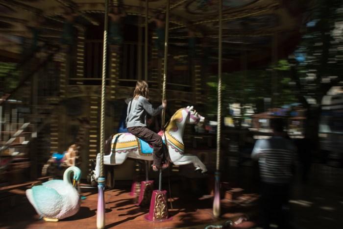 Aix-en-Provence's Cezanne carousel